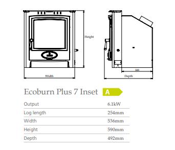 Arada Ecoburn +7 Inset